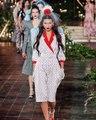 Le défilé Rodarte a la Fashion Week de New York A/H 2020-2021