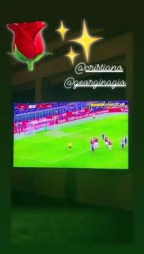 La blague de Georgina sur Sarri en direct pendant Milan-Juventus