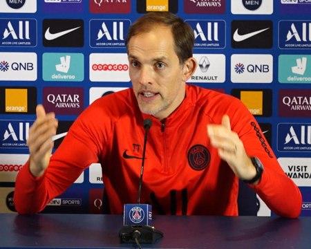 """25e j. - Tuchel : """"Je ne connais pas encore le 11 qui va débuter à Dortmund"""""""