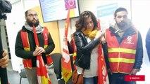Savoie : le personnel hospitalier manifeste et s'invite à l'Agence régionale de santé