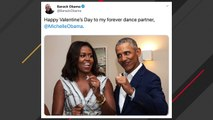 Barack Obama Tweets About His 'Forever Dance Partner' Michelle Obama On Valentine's Day