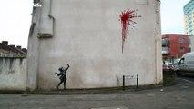 Banksy reaparece en San Valentín