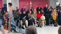 À la Fashion week de Londres, les masques médicaux sont chics comme jamais
