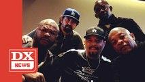 Dr. Dre, Ice-T, Xzibit & FredWreck Post Up In The Studio