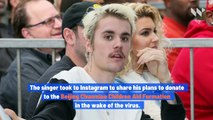 Justin Bieber Makes Donation to Battle Coronavirus