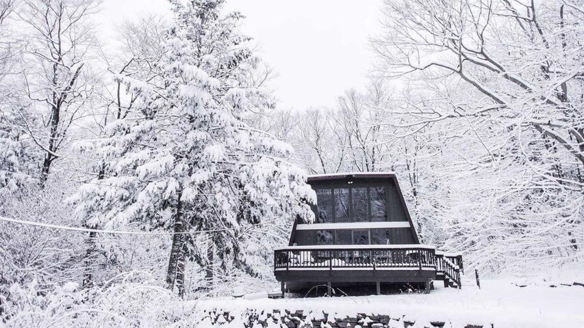 This Adorable A-frame Airbnb in the Catskills Will Make Your Instagram Dreams Come True