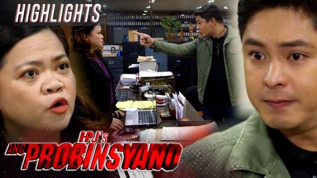 Cardo threatens the witness against Lolo Delfin | FPJ's Ang Probinsyano