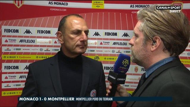 La réaction de Michel Der Zakarian après Monaco / Montpellier - Late Football Club