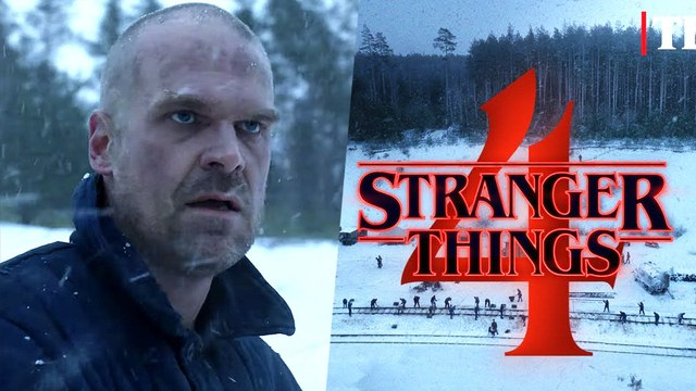 Stranger Things Season 4 - From Russia with love….