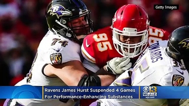 Ravens OL James Hurst Suspended 4 Games for Using Performance-Enhancing Substances