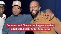 Common And Chance the Rapper Team Up For NBA Show