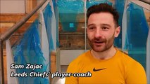 Highlights plus post-match interview with Leeds Chiefs coach Sam Zajac