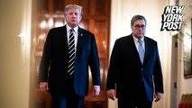 Trump claims 'legal right' to order William Barr to do anything he wants