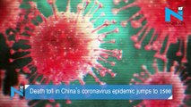 Death toll in China's coronavirus epidemic jumps to over 1,500
