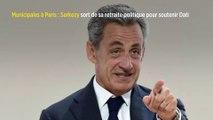 Municipales à Paris : Sarkozy sort de sa retraite politique pour soutenir Dati
