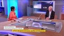 """Michel Noblecourt : """"C'est un coup dur pour le chef de l'Etat qui les collectionne sur les élections municipales."""""""