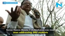 Watch: Chidambaram takes jibe at PM Modi's educational qualifications