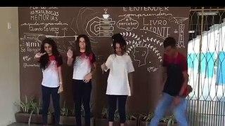 Alunos de escola de Cajazeiras fazem vídeo contra 'desafio da rasteira' que matou estudante no RN