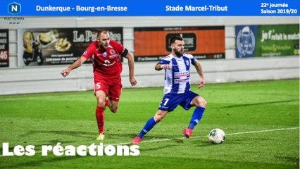 Réactions USLD - Bourg (J22)
