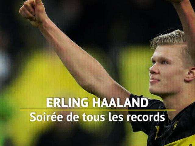 LDC - Haaland, la soirée de tous les records