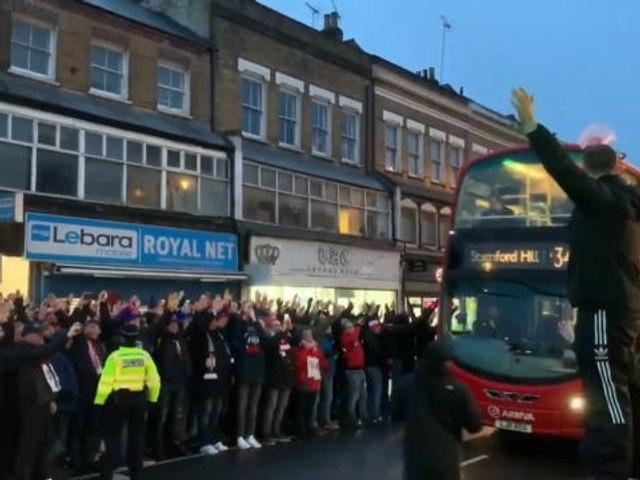 LDC - Les supporters de Leipzig envahissent les rues de Londres