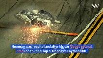 Ryan Newman Is Awake and Speaking After Daytona 500 Wreck