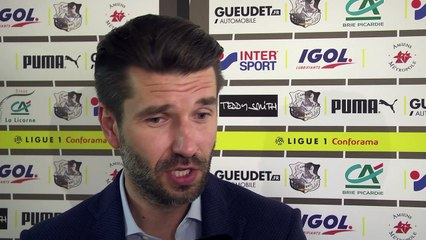Après le match, Amiens SC - Paris SG, Luka Elsner