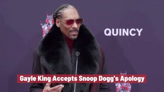Gayle King Forgives Snoop Dogg