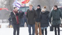Minister of Indigenous Services meets with protesters at a rail blockade