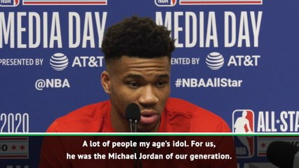 'The Michael Jordan of our generation' - Giannis, LeBron pay tribute to Kobe