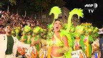 Carnaval agita o Uruguai