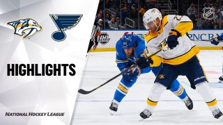 St. Louis Blues vs. Nashville Predators - Game Highlights