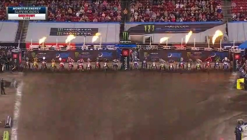 250SX Main Event AMA Supercross Tampa 2020