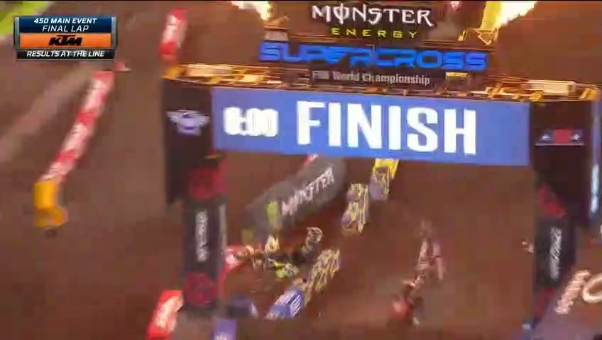 450SX Main Event AMA Supercross Tampa 2020