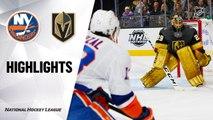 Vegas Golden Knights vs. New York Islanders - Game Highlights