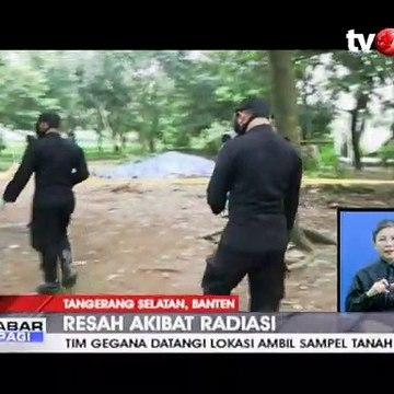 Terpapar Radioaktif, Tim Gegana Periksa Tanah di Tangerang