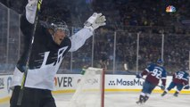 Toffoli notches first ever NHL outdoor hat trick against Avs