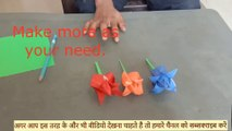 - Paper flower making ,  Making Paper Flowers Step by Step ,  Easy Paper Flowers ,  paper flower making