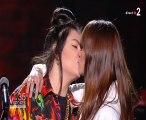 « Victoires de la musique : Hoshi embrasse une femme pour lutter contre l'homophobie (Vidéo)