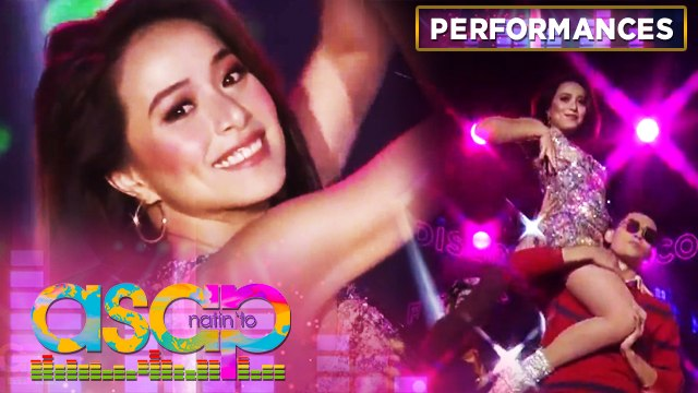 Cristine Reyes joins ASAP Natin 'To's disco party opening | ASAP Natin 'To