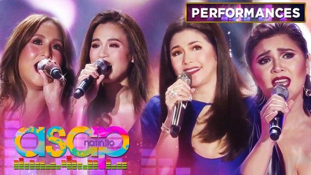 Jolina, Toni, Regine and Vina perform love songs medley | ASAP Natin 'To