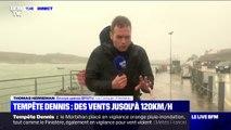 Tempête Dennis: des vents jusqu'à 120 km/h attendus dans le Finistère