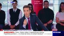 """Municipales à Paris: pour Jean-Baptiste Djebbari, Cédric Villani """"n'apparaît pas être l'hypothèse préférentielle"""""""