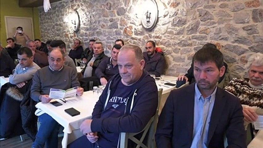 Ο Πέτρος Κόκκαλης  στο Αμούρι Φθιώτιδας - Συζήτηση με αγρότες για τη νέα ΚΑΠ και την Πράσινη Συμφωνία
