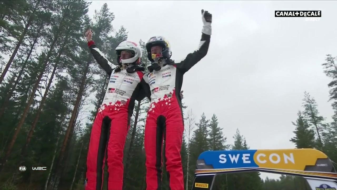 WRC - Elfyn Evans remporte le Rallye de Suède pour la 1e fois !