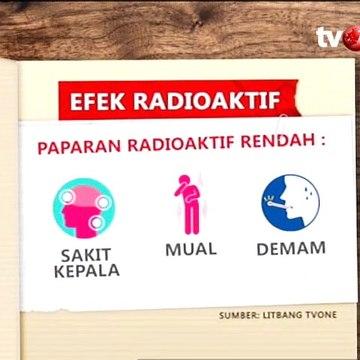 Temuan Radioaktif di Tangerang, Ini Bahayanya bagi Kesehatan