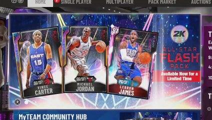 I went Nuggets for Galaxy Opal Michael Jordan! NBA 2K20