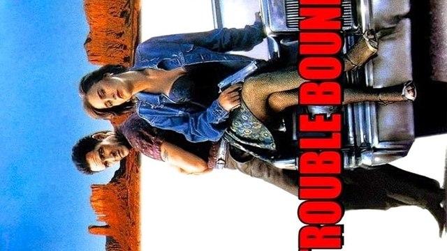 Trouble Bound movie (1993) Michael Madsen, Patricia Arquette, Sal Jenco
