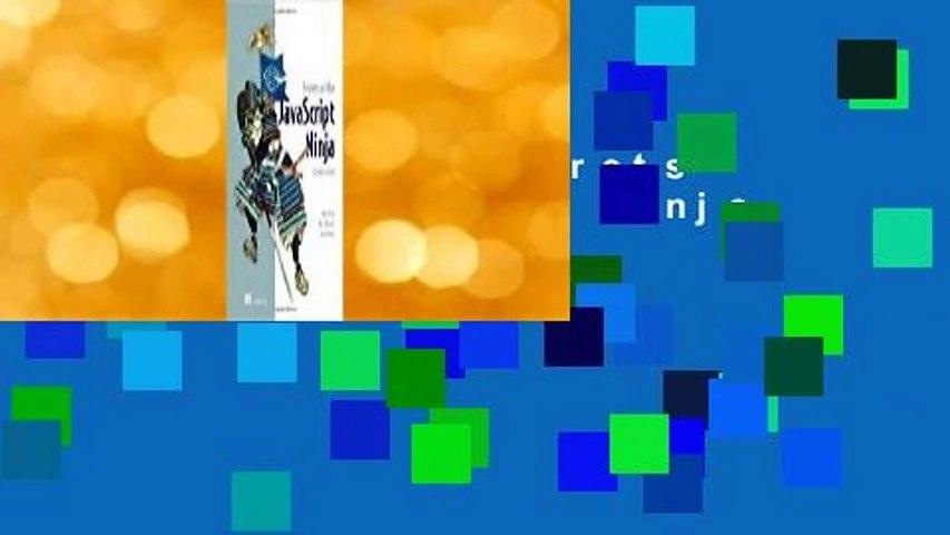 Full E-book  Secrets of the JavaScript Ninja Complete