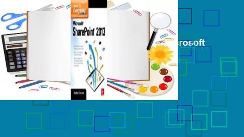 Full E-book  How to Do Everything Microsoft Sharepoint 2013  For Online